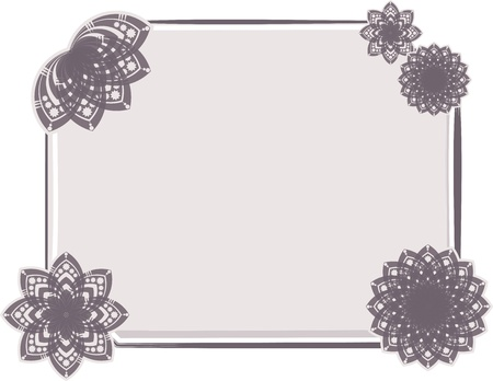 twine: Floral background