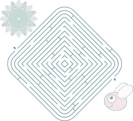maze s bee Stock Vector - 12808577