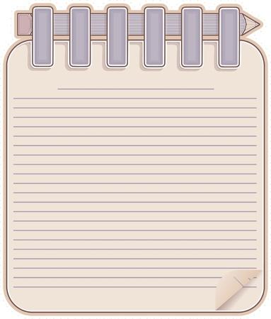 sketch book: Sketch book and  pencil