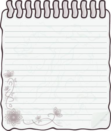 Sketch book and  pencil Stock Vector - 13726872