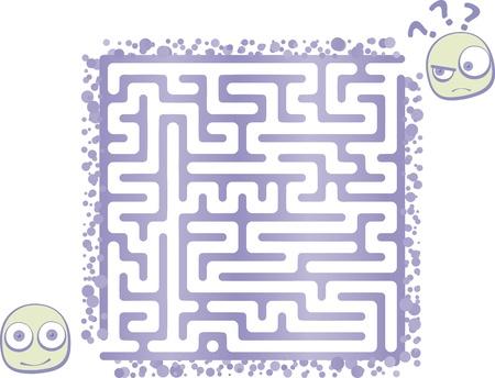 Kid Maze Stock Vector - 17174692