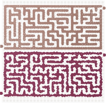 Set of Maze Stock Vector - 17211831