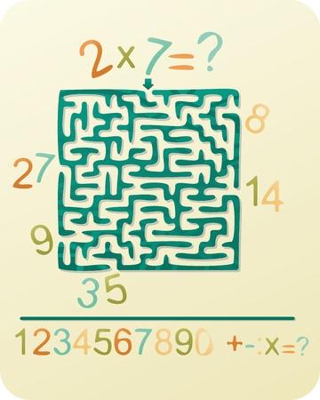 Number s Maze
