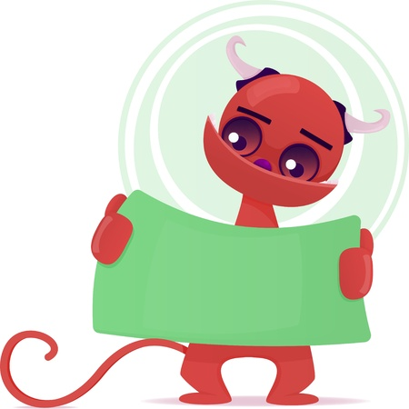Cute Monster Stock Vector - 17698112