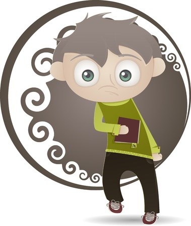 Cute boy Stock Vector - 18087600