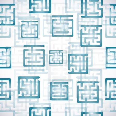 Maze background Vector
