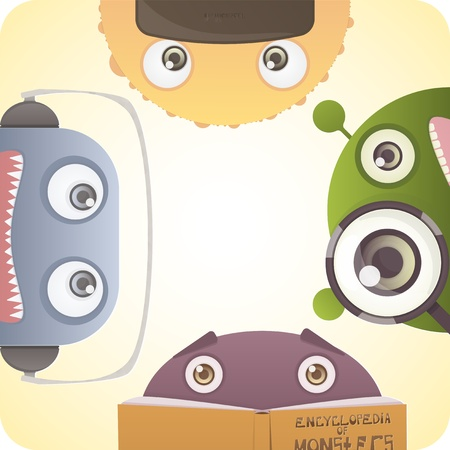 Set of Monsters Stock Vector - 19359029