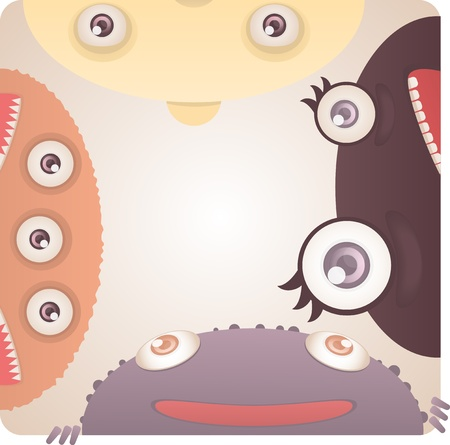 Set of Monsters Stock Vector - 19359035