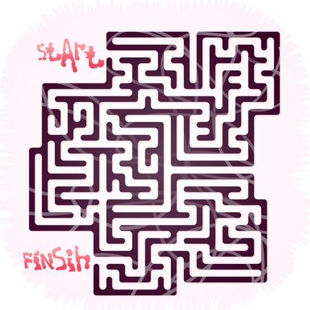 Fanny maze for children