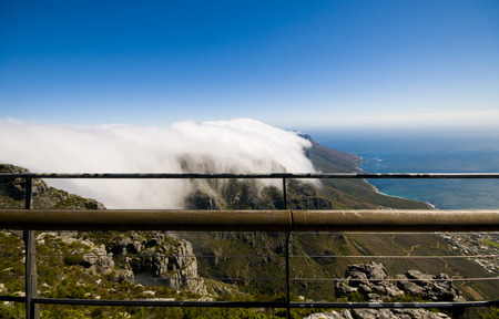 View from the top of Table Mountain photo