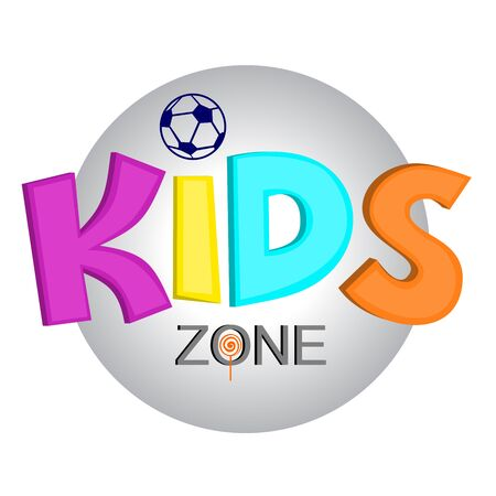 Logo for the childrens company, the organization of childrens parties, the designation of the childrens room