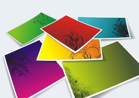 foto: Vector photo frames
