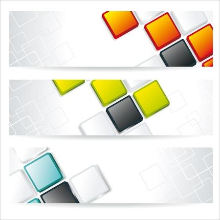 tarjeta de presentacion: Banners cuadrados