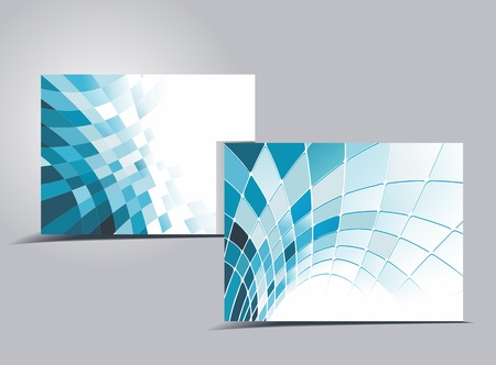 business card set, for more business card of this type please visit my gallery Stock Vector - 10134170