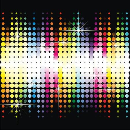 Kleurrijke dansvloer