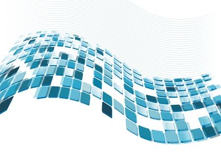 profundidad:  Fondo transparente de azulejos