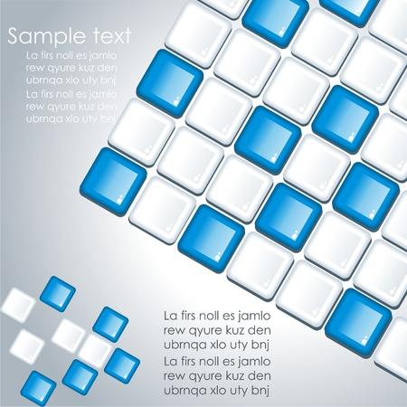 tile grout:  Seamless Tiles Background Illustration