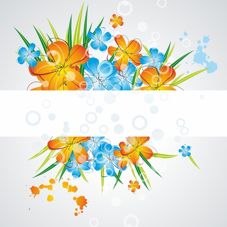 Cute floral background Stock Vector - 10190999