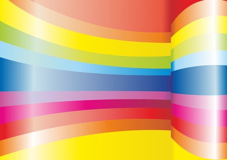 interlace: abstract vector background with lines  Illustration