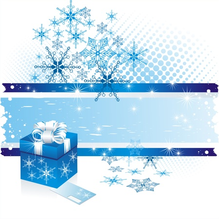Christmas gifts vector image  Stock Vector - 10915432
