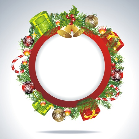 Christmas gifts vector image  Vector