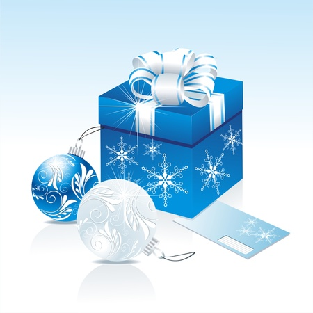 Christmas gifts vector image Stock Vector - 10915417