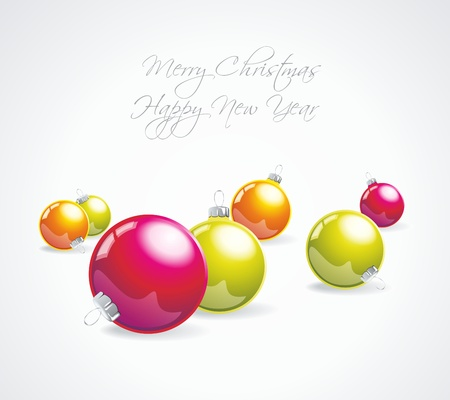 Christmas bauble collection. Stock Vector - 11087677