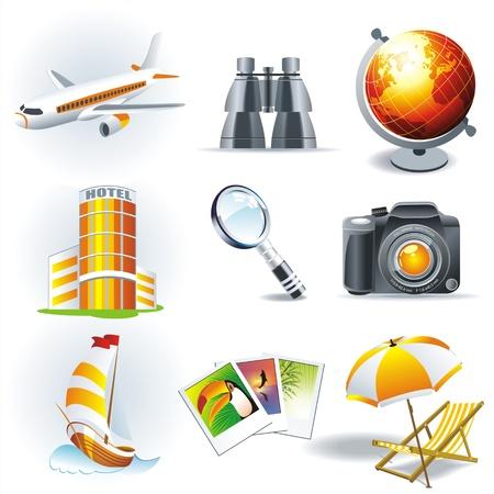 hotel icon: Travel stickers