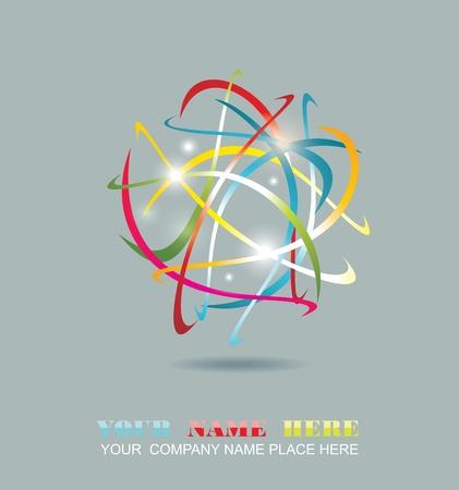 conectividad: Empresas abstracto icono