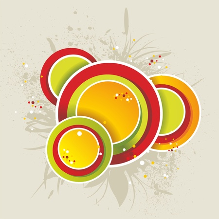 dram: Abstract colorful background  Vector   Illustration