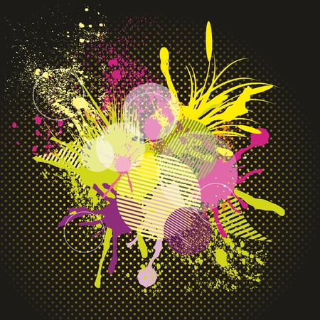 dram: Abstract colorful background. Vector.