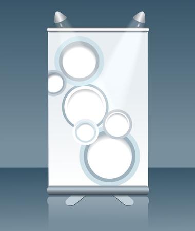 blank vertical billboard Stock Vector - 14473133