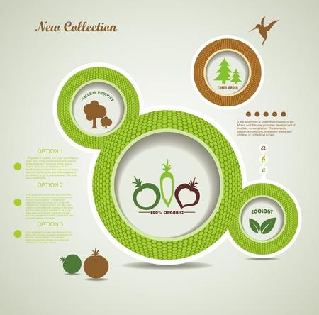 rzepa: Zestaw organicznych i farm świeżych pęcherzyków żywności