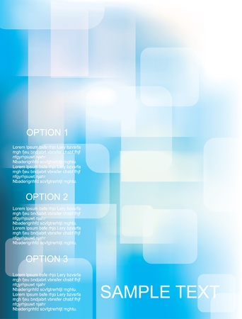 Vector awesome abstract blue backgrounds  Vector