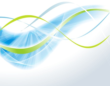 Vector ontzagwekkend abstracte blauwe achtergrond Vector Illustratie