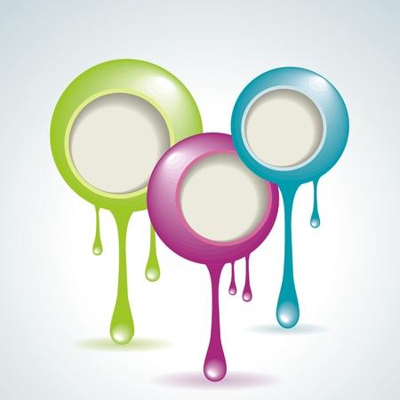 Vector Idea Bulbs. Chat Bubbles  Vector
