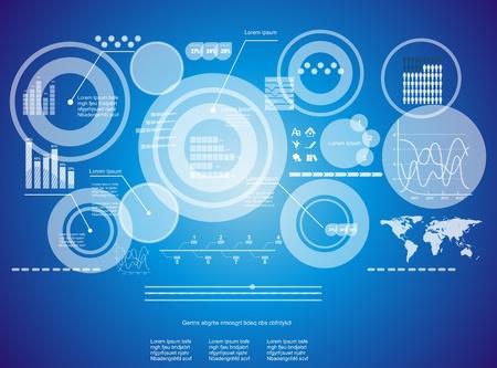 virtual space: Moderno sfondo tecnologia virtuale