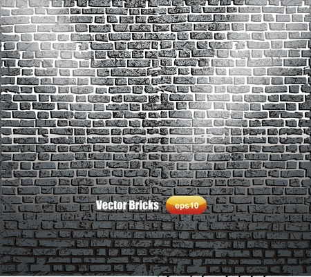 Background of brick wall texture Stock Vector - 16185323