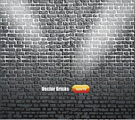 stonework: Background of brick wall texture  Illustration