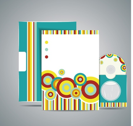 letter head: Professional corporate identity kit or business kit