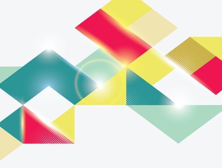 Geometric Background Stock Vector - 16612674