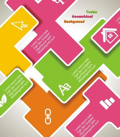 Web design template Stock Vector - 16656122