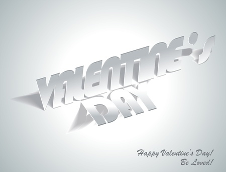 paper folding: Valentines Day: Paper Folding with Letter, Monochrome Drawings