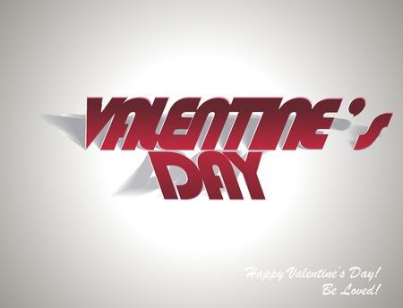paper folding: Valentines Day: Paper Folding with Letter Illustration