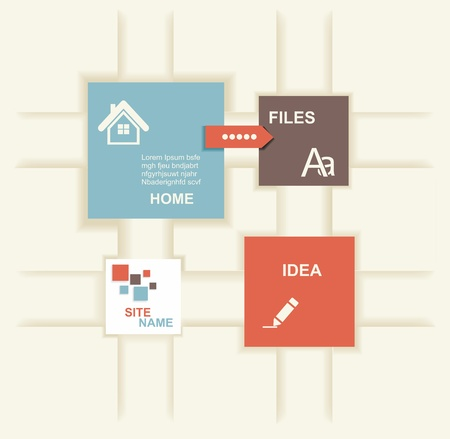 graph paper background: Modern Design template. Graphic or website layout  .