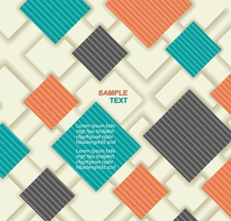 Seamless abstract pattern.  Modern Design template. Graphic or website layout     Vector