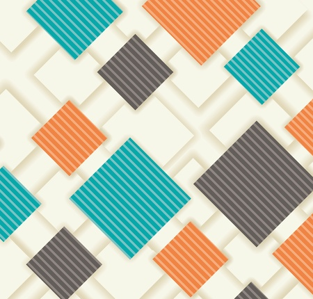 Seamless abstract pattern.  Modern Design template. Graphic or website layout vector. Stock Vector - 17836641