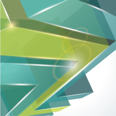 3d abstract background Stock Vector - 17836919
