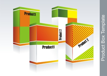Box- packaging  Vector