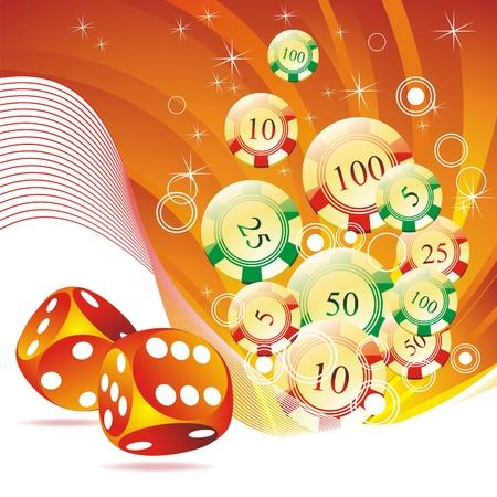 Una escalera real jugando a las cartas en la mano de póker corazones